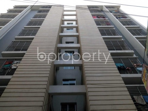 Front view - 3 Bed Apartment for Sale in Shyamoli, Dhaka - 1857375