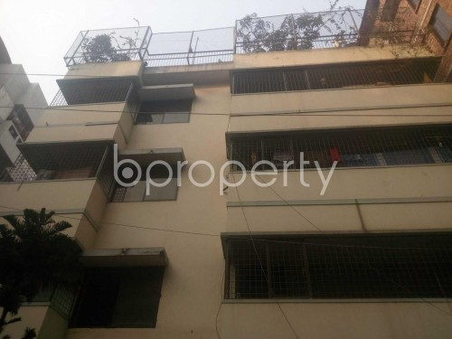 Front view - 4 Bed Apartment to Rent in Hatirpool, Dhaka - 1857396