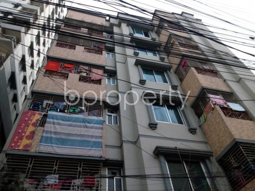 Front view - 1 Bed Apartment to Rent in Shyamoli, Dhaka - 1857413