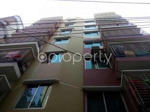Front view - 1 Bed Apartment for Sale in Tejgaon, Dhaka - 1857525