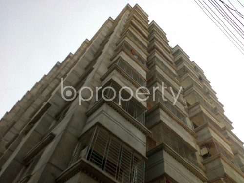Outside view - 3 Bed Apartment for Sale in Badda, Dhaka - 1857530