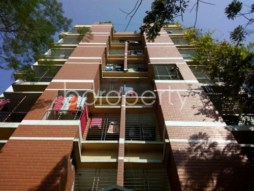 Front view - 3 Bed Apartment for Sale in Bashundhara R-A, Dhaka - 1857601