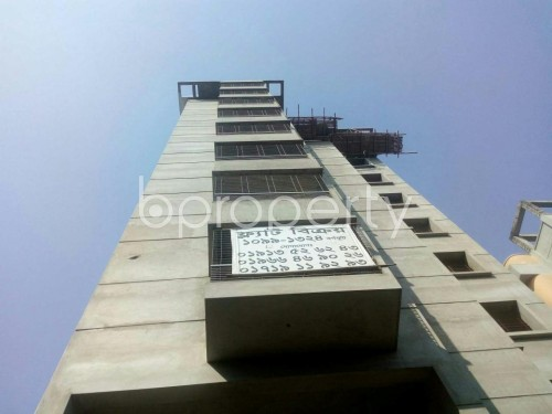 Front view - 3 Bed Apartment for Sale in Malibagh, Dhaka - 1857781