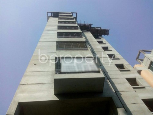 Front view - 3 Bed Apartment for Sale in Malibagh, Dhaka - 1857783