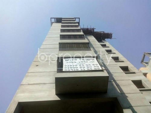 Front view - 3 Bed Apartment for Sale in Malibagh, Dhaka - 1857784