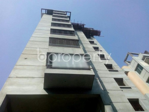 Front view - 3 Bed Apartment for Sale in Malibagh, Dhaka - 1857794