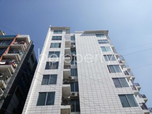 Front view - 3 Bed Apartment for Sale in Uttara, Dhaka - 1857821