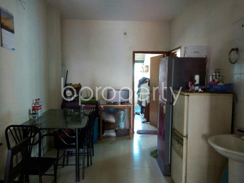 Dining area - 3 Bed Apartment for Sale in Mohammadpur, Dhaka - 1857918