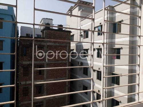Balcony Terrace - 3 Bed Apartment for Sale in Mirpur, Dhaka - 1858220