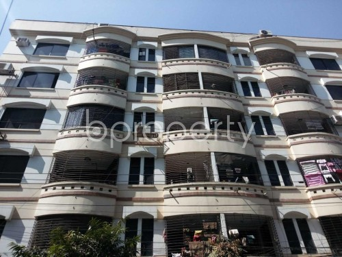 Front view - 3 Bed Apartment to Rent in Banani, Dhaka - 1858299