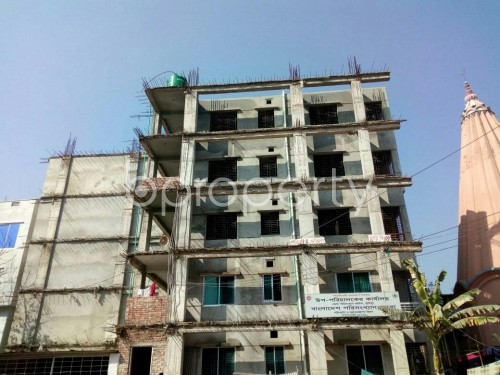 Front view - 3 Bed Apartment for Sale in Bagichagaon, Comilla - 1858349