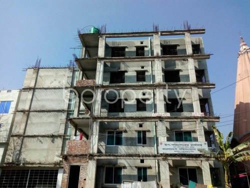 Front view - 3 Bed Apartment for Sale in Bagichagaon, Comilla - 1858350