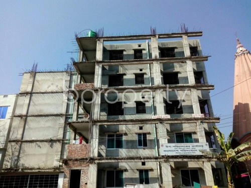 Front view - 3 Bed Apartment for Sale in Bagichagaon, Comilla - 1858351