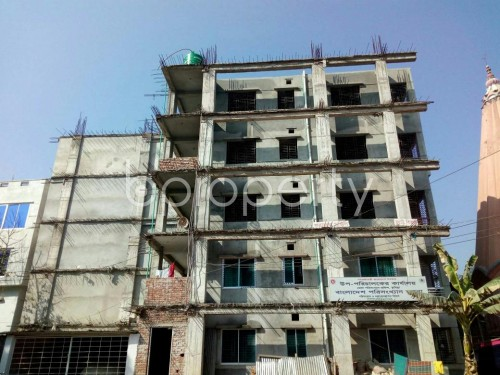 Front view - 3 Bed Apartment for Sale in Bagichagaon, Comilla - 1858352