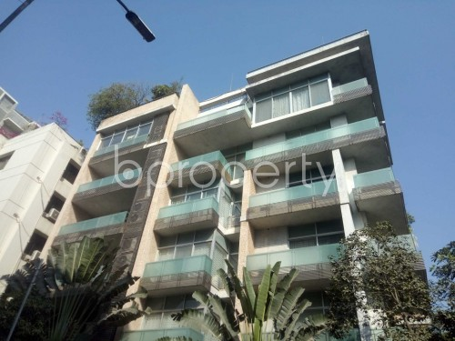 Outside view - 3 Bed Apartment to Rent in Baridhara, Dhaka - 1858372