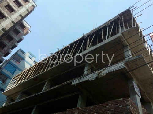 Front view - 3 Bed Apartment for Sale in Banasree, Dhaka - 1858417