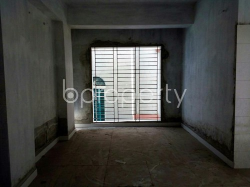 Dining area - 3 Bed Apartment for Sale in Mirpur, Dhaka - 1858535