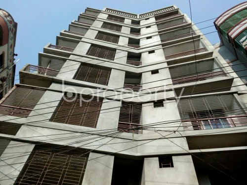 Front view - 3 Bed Apartment for Sale in Mirpur, Dhaka - 1858540