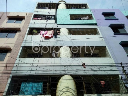 Front view - 1 Bed Apartment to Rent in Mohammadpur, Dhaka - 1858389