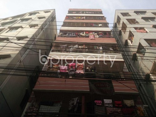 Front view - 2 Bed Apartment to Rent in Hatirpool, Dhaka - 1858611