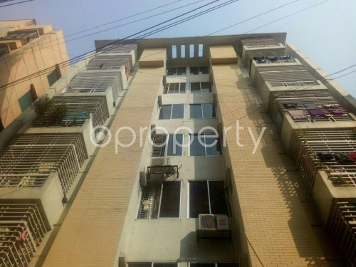 Front view - 3 Bed Apartment for Sale in Badda, Dhaka - 1858531