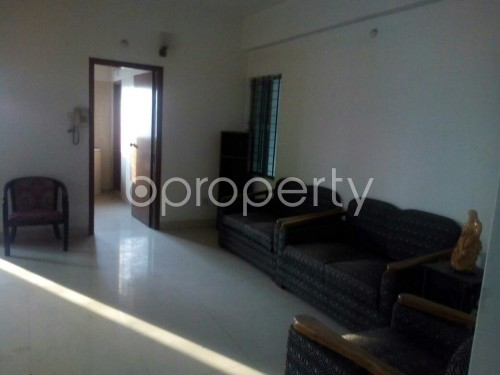 Dining area - 4 Bed Apartment for Sale in Badda, Dhaka - 1858662
