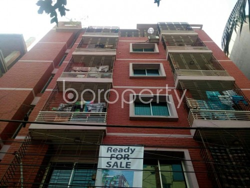 Front view - 2 Bed Apartment for Sale in Badda, Dhaka - 1858756