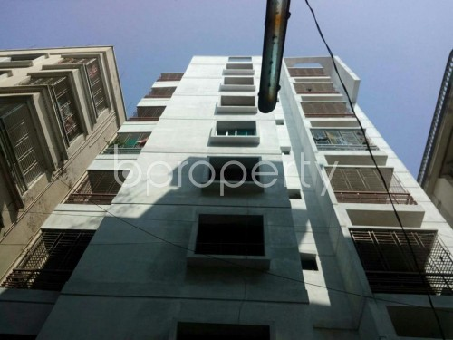 Front view - 3 Bed Apartment for Sale in Badda, Dhaka - 1858773