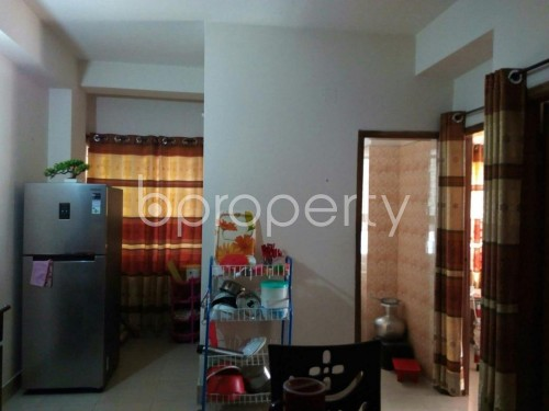 Dining area - 2 Bed Apartment to Rent in Mohammadpur, Dhaka - 1858774