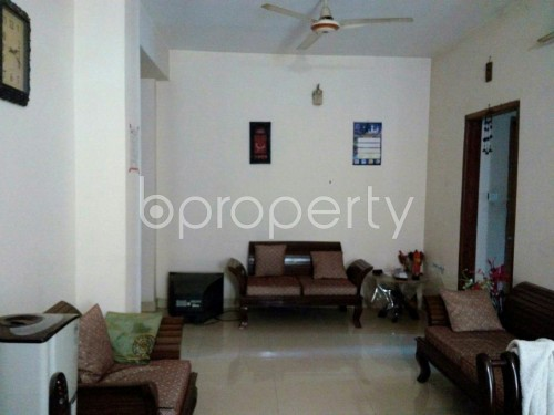 Dining area - 3 Bed Apartment to Rent in Mohammadpur, Dhaka - 1858799