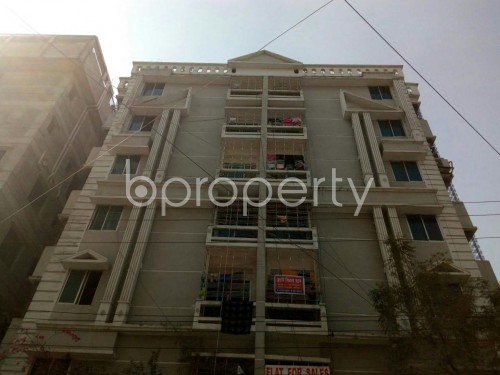 Front view - 2 Bed Apartment for Sale in Banasree, Dhaka - 1858904