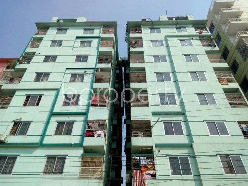 Front view - 3 Bed Apartment for Sale in Dakshin Khan, Dhaka - 1858910