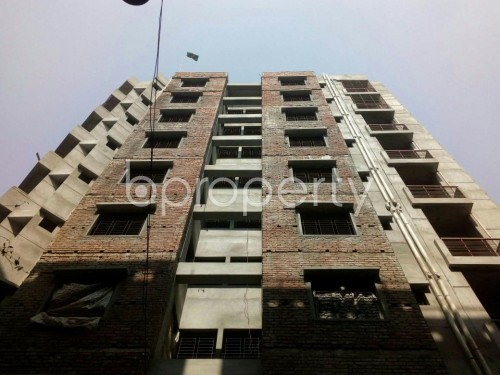 Front view - 3 Bed Apartment for Sale in Banasree, Dhaka - 1858915