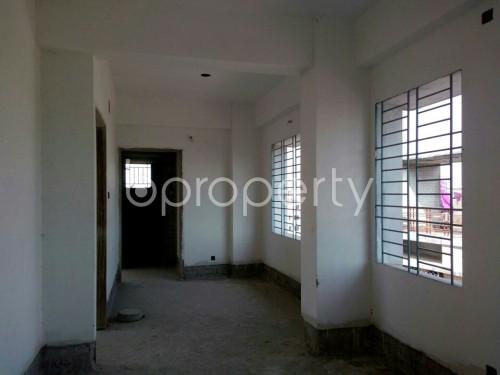 Dining area - 3 Bed Apartment for Sale in Dakshin Khan, Dhaka - 1858945