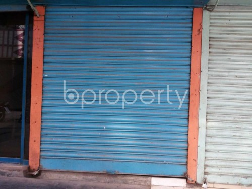 Front view - Shop to Rent in Khilgaon, Dhaka - 1858980