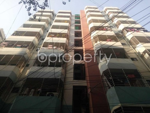 Front view - 3 Bed Apartment to Rent in Kathalbagan, Dhaka - 1859077