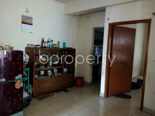 Dining area - 2 Bed Apartment to Rent in Mohammadpur, Dhaka - 1859070