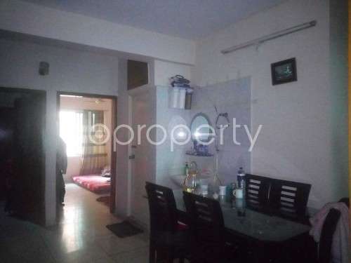 Dine/Dining - 3 Bed Apartment to Rent in Kathalbagan, Dhaka - 1859144