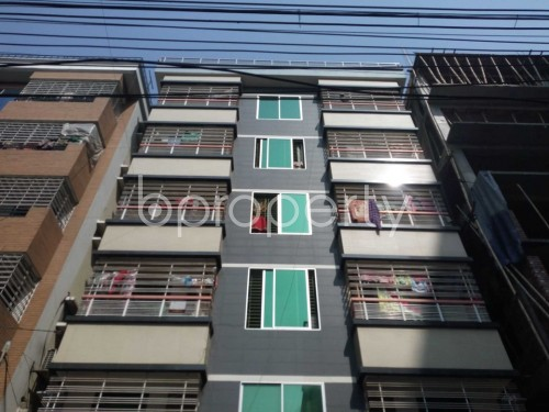 Outside view - 2 Bed Apartment to Rent in Nikunja, Dhaka - 1859151