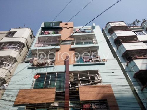 Outside view - 2 Bed Apartment to Rent in Nikunja, Dhaka - 1859155