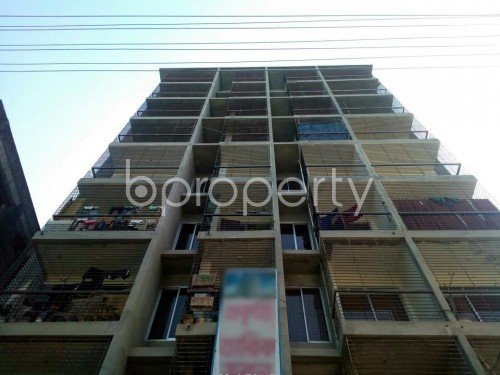 Front view - 2 Bed Apartment for Sale in Race Course, Comilla - 1859171