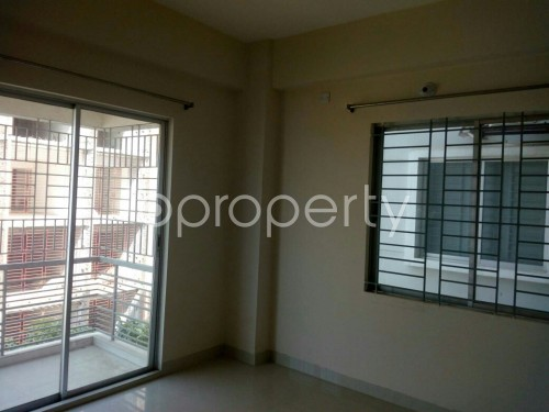 Bedroom - 2 Bed Apartment to Rent in Bashundhara R-A, Dhaka - 1859210