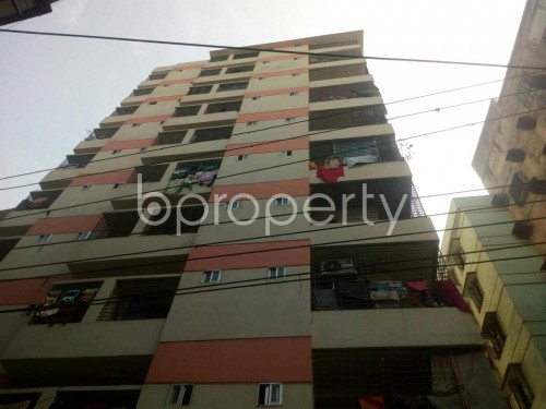 Front view - 3 Bed Apartment to Rent in Malibagh, Dhaka - 1859029