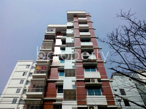 Front view - 3 Bed Apartment for Sale in Bashundhara R-A, Dhaka - 1859352