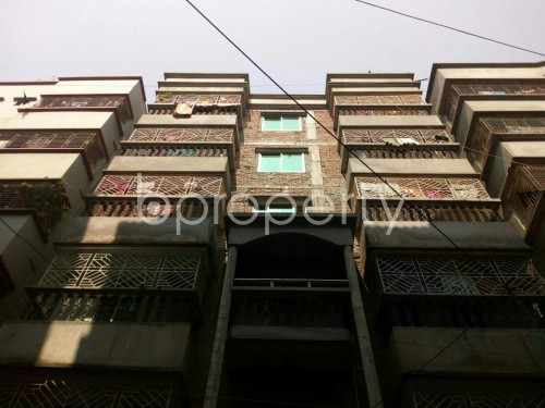 Front view - 1 Bed Apartment to Rent in Badda, Dhaka - 1859396