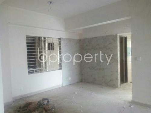 Empty Room - 3 Bed Apartment for Sale in Rampura, Dhaka - 1859418