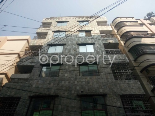 Outside view - 3 Bed Apartment to Rent in Nikunja, Dhaka - 1859443