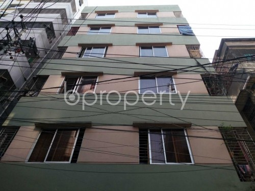 Front view - 3 Bed Apartment for Sale in Khilgaon, Dhaka - 1859477