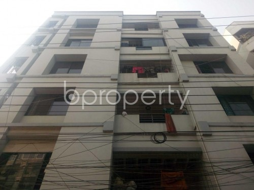 Front view - 3 Bed Apartment to Rent in Hatirpool, Dhaka - 1859497