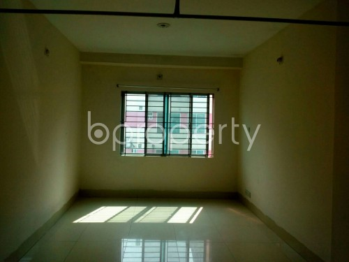 Empty Room - 2 Bed Apartment to Rent in Bashundhara R-A, Dhaka - 1859502